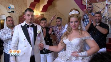 "Nunta de lux, spectacol de 5 stele, sambata, la ""Se striga darul""!"