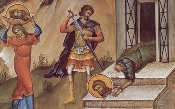 Traditii in ziua Taierii Capului Sfantului Ioan Botezatorul: de ce e interzis vinul rosu