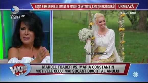 """A iesit la iveala adevarul despre divortul dintre Maria Constantin si Marcel Toader! Anda Ghita: """"Ea a plecat de la el"""" E socant ce facea barbatul cand mergea la petreceri alaturi de sotia lui"""