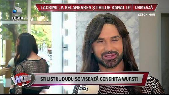 "El este sosia Conchitei Wurst! Povestea lui de viata este dramatica: ""Am vrut sa ma sinucid!"""