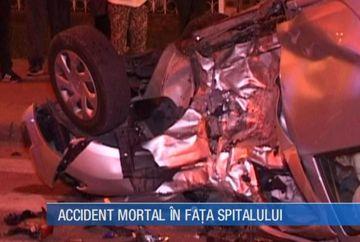 Accident mortal in fata unui spital din Vaslui! Cine sunt victimele