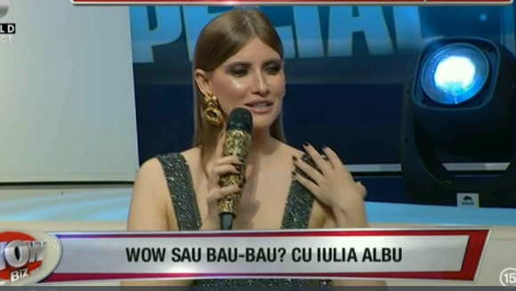 "WOW sau BAU? Iulia Albu a dat verdictul: ""E cea mai slaba tinuta pe care am vazut-o vreodata!"" Cine este vedeta care a gafat si cine a reusit sa o impresioneze pe jurata de la ""Bravo, ai stil!"""