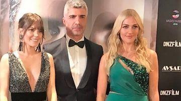 Ozcan Deniz (Faruk) a stralucit alaturi de cele doua frumoase colege Asli Enver (Sureyya) si Meryem Uzerli, la gala lansarii noului lor proiect cinematografic! Iata ce tinute elegante au purtat cei trei celebri actori!