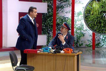 """Bursucu a reusit maxim sa-l enerveze pe Ernest in noaptea de Revelion! Prezentatorul TV mai avea putin si il lua la bataie:""""Ti-ai propus sa ma bagi la nebuni?"""" Urmareste mai jos intreaga scena!"""