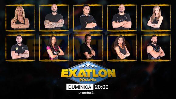 """Azi, de la ora 20:00, marea premiera """"Exatlon"""". 20 de concurenti, doua echipe, intra in competitia care le poate aduce 100.000 de euro!"""