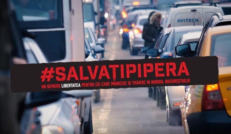 #salvatipipera, campania pentru imbunatatirea conditiilor de trai in cel mai aglomerat cartier din Bucuresti