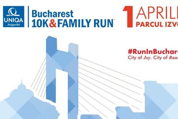 Restrictionarea traficului cu ocazia desfasurarii competitiilor din cadrul celei de-a treia editii a UNIQA Asigurari Bucharest 10k&FAMILY RUN, duminica, 1 aprilie 2018