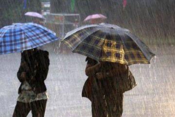 Alerta de vreme rea! Iata care sunt zonele vizate de ploi abundente, vant puternic si racire accentuata