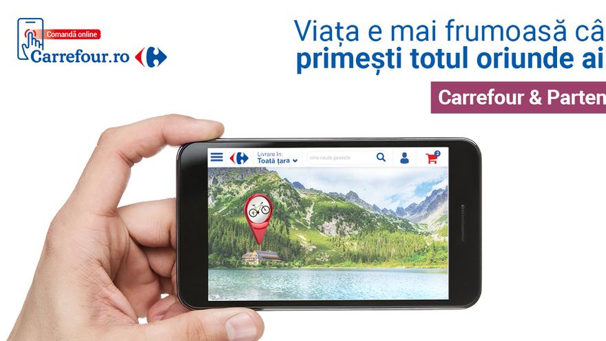 Carrefour România lansează portalul unic carrefour.ro: Supermarket Online, Carrefour & Partenerii (marketplace), magazinul mărcii proprii TEX, oportunităţi de carieră şi iniţiative corporate