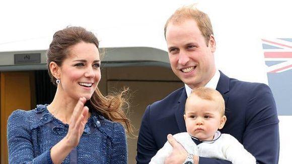 Bucurie mare in familia regala britanica! Cati ani implineste printul George, fiul cel mare al lui Kate si William