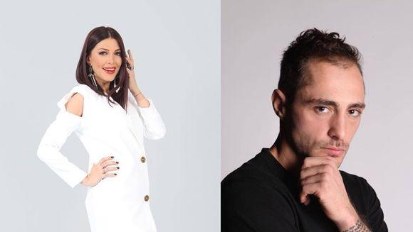"PRIMELE imagini cu Ilinca Vandici si Vladimir Draghia in calitate de prezentatori ai emisiunii ""FanArena!"""