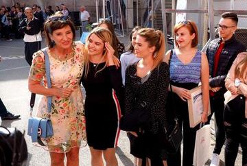 Carmen Iohannis a atras atentia tuturor! Cat costa sandalele pe care le-a purtat sotia presedintelui la deschiderea anului scolar din Sibiu