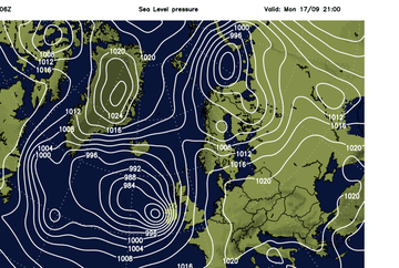 Meteorologii, in alerta! Furtuna tropicala Helene se apropie de Marea Britanie