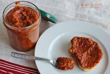 Zacusca traditionala de vinete cu mere! Iata cea mai gustoasa retea de sezon, din inima Maramuresului!