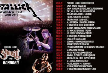 Trupa Metallica vine la Bucuresti intr-un concert incendiar