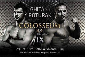 "PREMIERA NATIONALA. Magnificul Daniel Ghita, ""Samuraiul Salbatic"", revine in ring!"
