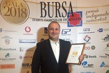 Ugur Yesil, CEO Kanal D si Executive Board Member Kanal D, premiat la Gala Bursa