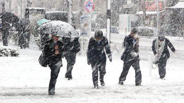 Lapovita, ninsori si furtuni inghetate in urmatoarele ore