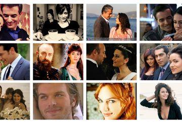 Ei formeaza cel mai bun cuplu al anului, in Turcia! Iata cat de frumosi sunt cei doi actori pe platourile de filmare si in ce productii i-ati mai vazut!
