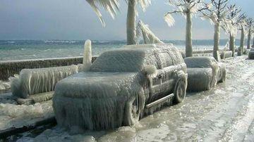 Caderi masive de zapada si ger in Romania, din cauza vortexului polar!