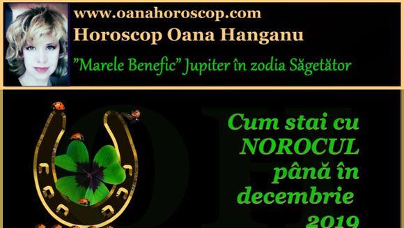 Horoscop Oana Hanganu: Afla cum stai cu norocul in 2019!
