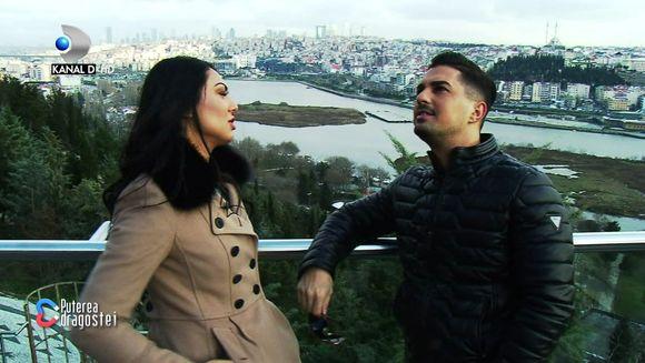 """Imagini de senzatie cu None si Andreea, la plimbare prin Istanbul! Se infiripa o noua poveste de iubire la """"Puterea dragostei""""? Iata cum au fost surprinsi cei doi!"""