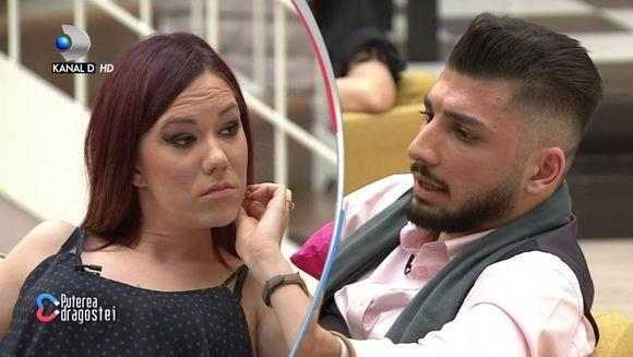 """Rasturnare de situatie in casa """"Puterea dragostei""""! Adrian, ultimatum pentru Raluca: """"Daca ma iubesti, ma accepti asa cum sunt!"""" Iata cum a reactionat tanara la iesirea nervoasa a partenerului ei!"""