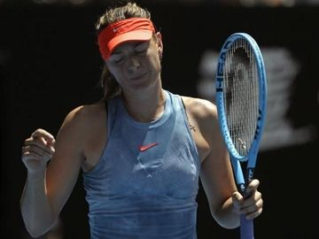 Sharapova paraseste Australian Open in huiduielile spectatorilor