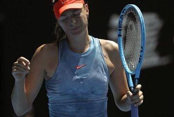 Sharapova paraseste Australian Open in huiduielile spectatorilor