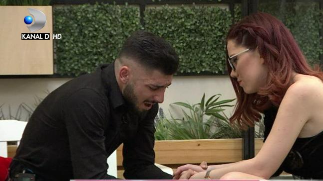"""Moment dramatic in casa """"Puterea dragostei""""! Raluca nu se mai intoarce la Adrian! Cei doi fosti iubiti s-au despartit cu lacrimi amare!"""