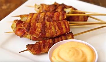 [Video] Cartofi inveliti in bacon! Ies crocanti si SAVUROSI! Reteta este pur si simplu GENIALA