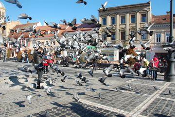 """Bursucu, prezentatorul de la """"Roata Norocului"""", atacat in Piata Sfatului din Brasov"""