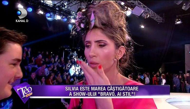 """Imagini IN PREMIERA din culisele finalei """"Bravo, ai stil!"""" Cum a fost surprinsa Silvia, castigatoarea show-ului, inainte de emisie"""