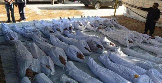 MASACRU in Siria: S-au culcat si nu s-au mai trezit niciodata! Peste 1.300 de persoane nevinovate au fost UCISE in somn
