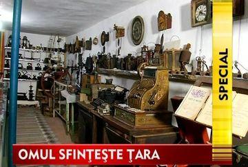 OMUL SFINTESTE TARA: Povestea lui Emilian Achim si a tezaurului care tine vie imaginea satului romanesc!