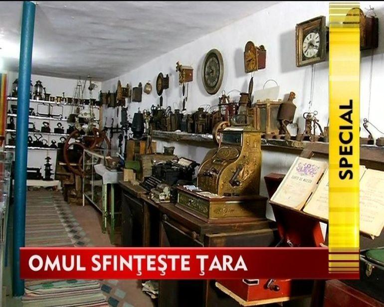 OMUL SFINTESTE TARA: Povestea lui Emilian Achim si a tezaurului care tine vie imaginea satului romanesc