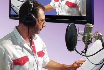 """Christian Sabbagh da glas personajului """"Naluca"""" din filmul de animatie """"Turbo"""""""
