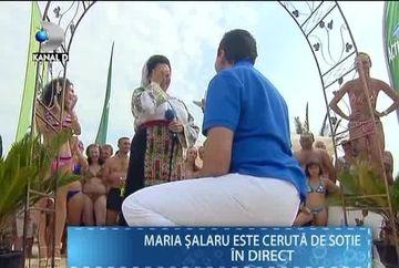 "Moment EMOTIONANT la ""Draga mea prietena""! Cantareata Maria Salaru a fost ceruta in casatorie in direct VIDEO"