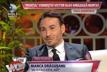 CONFRUNTARE SOC: Bianca Dragusanu si Adrian Cristea, FATA IN FATA! Se ANULEAZA nunta cu Victor Slav?