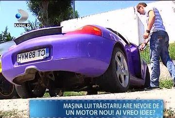 Ghinion pentru Mihai Traistariu! Bolidul de zeci de mii de euro i s-a stricat iar acum vrea sa il vanda VIDEO