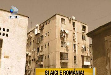 Cartierul Ferentari, un loc care arata ca dupa bombardament VIDEO