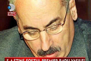 Lumea politica este IN DOLIU! Radu Vasile, fostul premier al Romaniei, a murit