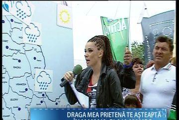 Ana Maria Barnoschi a PREZENTAT pentru prima data rubrica METEO la mare! Cum ti se pare ca s-a descurcat? VIDEO