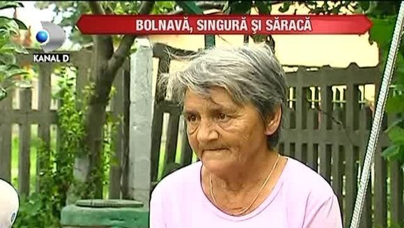 Bolnava, singura si saraca! O bunica isi doreste sa fie EUTANASIATA VIDEO