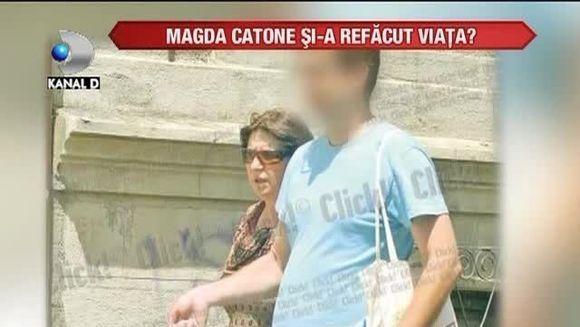 Magda Catone si-a refacut viata? Cine este tanarul misterios in compania caruia a fost surprinsa? VIDEO