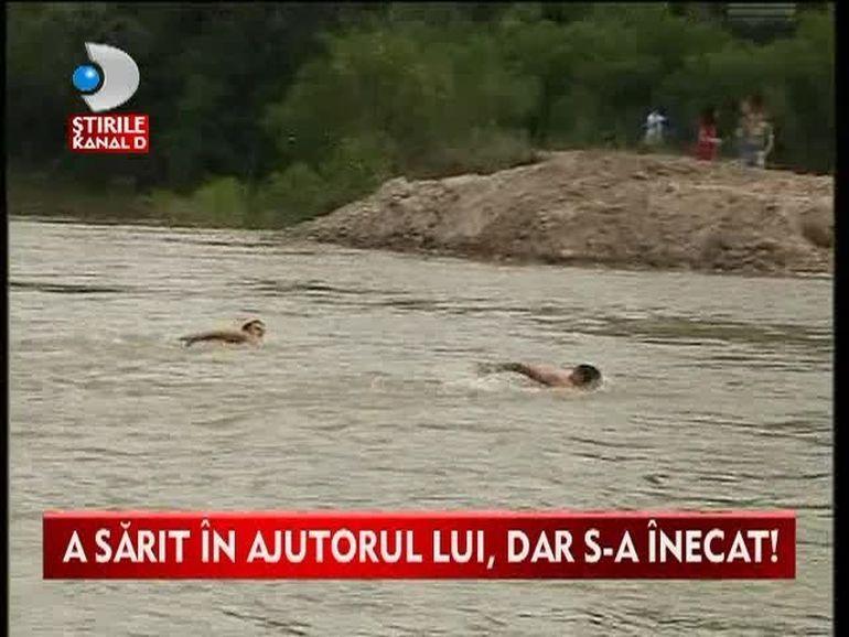 TRAGEDIE pe malul raului Arges! Doi frati si matusa lor s-au inecat in apele involburate VIDEO