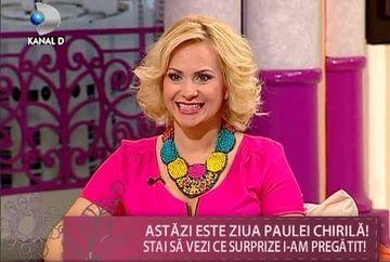 Paula Chirila, emotionata de ziua ei de nastere! Vezi MOMENTUL care i-a taiat rasuflarea