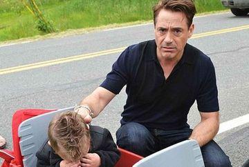 """""""Unde este Iron Man?"""" Robert Downey Jr a facut un copil sa planga in hohote la un eveniment"""