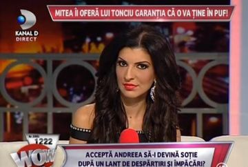 Va rezista de data asta relatia Andreei Tonciu cu Nicolae Mitea? Fotbalistul e gata sa o ceara de nevasta