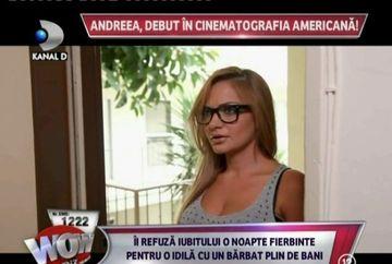 Andreea Antonescu, sexy si rea s-a sarutat cu un barbat! Vezi imagini din primul ei film produs in Statele Unite